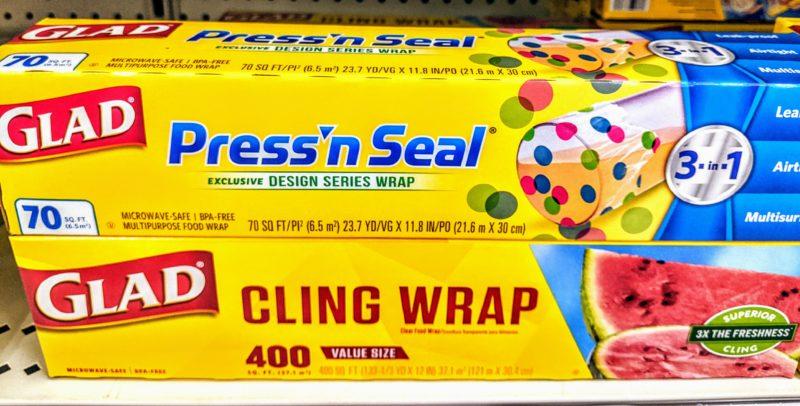 Glad Press'n Seal  グラッドプレスンシール ドット柄
