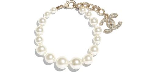 bracelet-gold-pearly-white-crystal-metal-glass-pearls-resin-strass-metal-glass-pearls-resin-strass-packshot-default-a86499y09902z2953-8806032998430