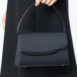 東京ソワール ブラックフォーマルバッグ