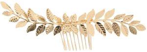 Sharplace ヴィンテージゴールドメッキヘアコーム