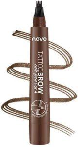 NOVO フォーク型長持ちリキッドアイブロウペンシル
