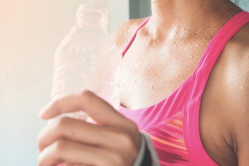 4:運動をして思い切り汗をかく
