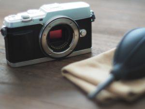 ブロワーとカメラ